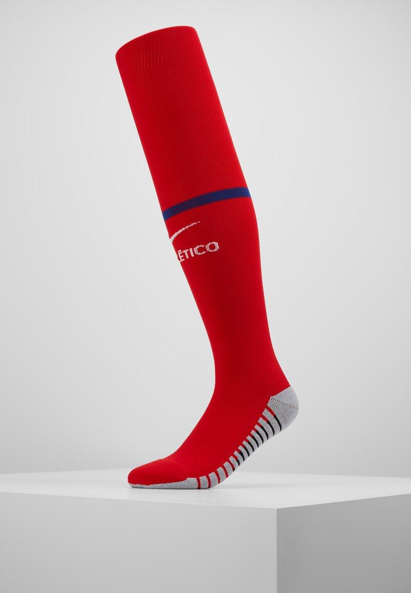 Nike Performance - ATLETICO MADRID - Kniestrümpfe - sport red/deep royal blue/white