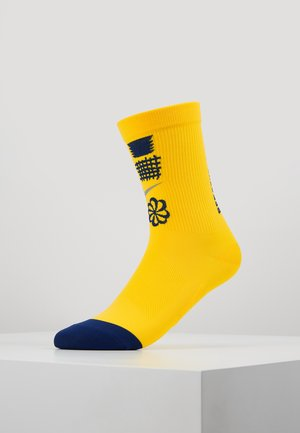 SPARK CREW  - Calcetines de deporte - chrome yellow/blue void