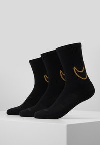 Nike Performance - 3 PACK - Skarpety sportowe - black/club gold/black - 1