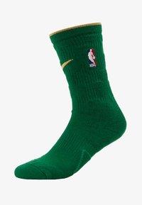 Nike Performance - NBA CITY EDITION BOSTON CELTICS SOCKS - Skarpety sportowe - clover/club gold - 1