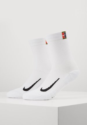 COURT MULTIPLIER CUSHIONED 2 PACK - Chaussettes de sport - white