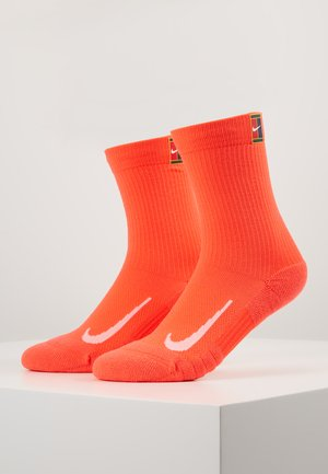 COURT MULTIPLIER CUSHIONED 2 PACK - Skarpety sportowe - orange