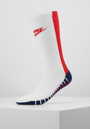 PARIS ST GERMAIN SQUAD CREW  - Skarpety sportowe - white/midnight navy/university red