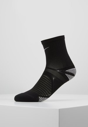 RACING ANKLE - Sportsocken - black/reflective