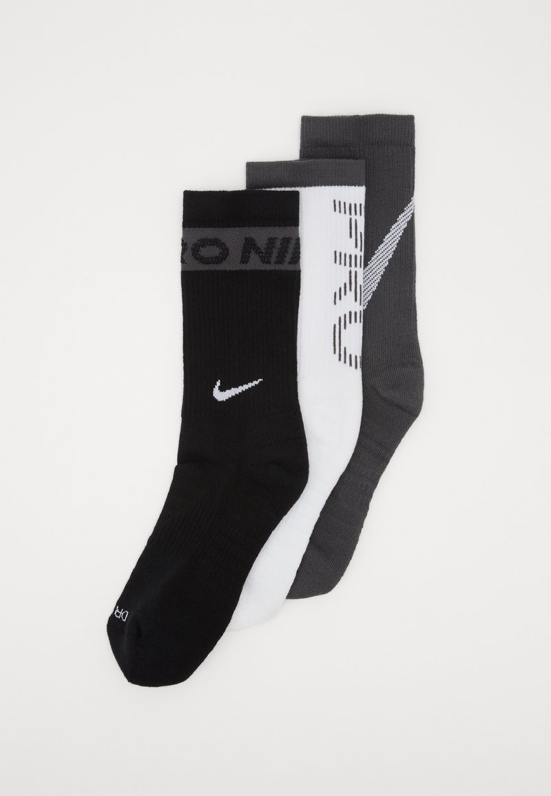 Nike Performance - EVERYDAY MAX CUSH CREW 3 PACK - Calcetines de deporte - multi-color