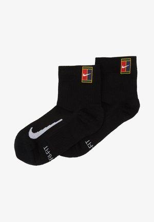 COURT MULTIPLIER MAX 2 PACK - Chaussettes de sport - black