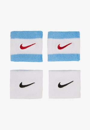 WRISTBANDS 4 PACK - Sweatband - white/university blue/university red