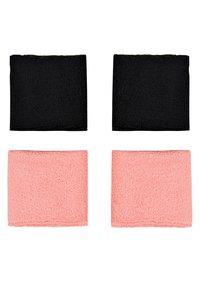 Nike Performance - WRISTBANDS 4 PACK - Sweatband - vivid pink/white - 0