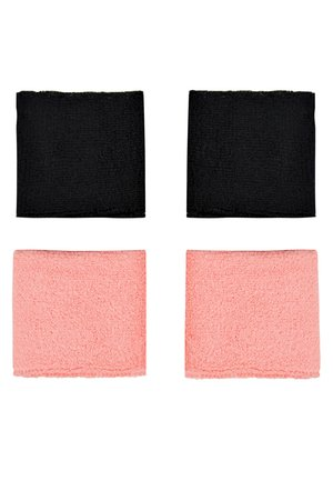 WRISTBANDS 4 PACK - Sweatband - vivid pink/white