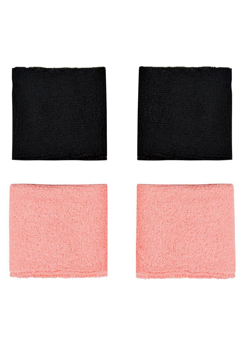 Nike Performance - WRISTBANDS 4 PACK - Sweatband - vivid pink/white