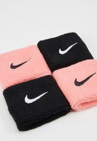 Nike Performance - WRISTBANDS 4 PACK - Sweatband - vivid pink/white - 4