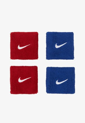 WRISTBANDS 4 PACK - Svettband - royal blue/varsity red