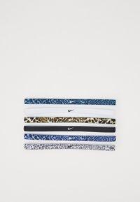 Nike Performance - PRINTED HEADBANDS 6 PACK - Accessoires - Overig - cerulean/light cream/black - 0