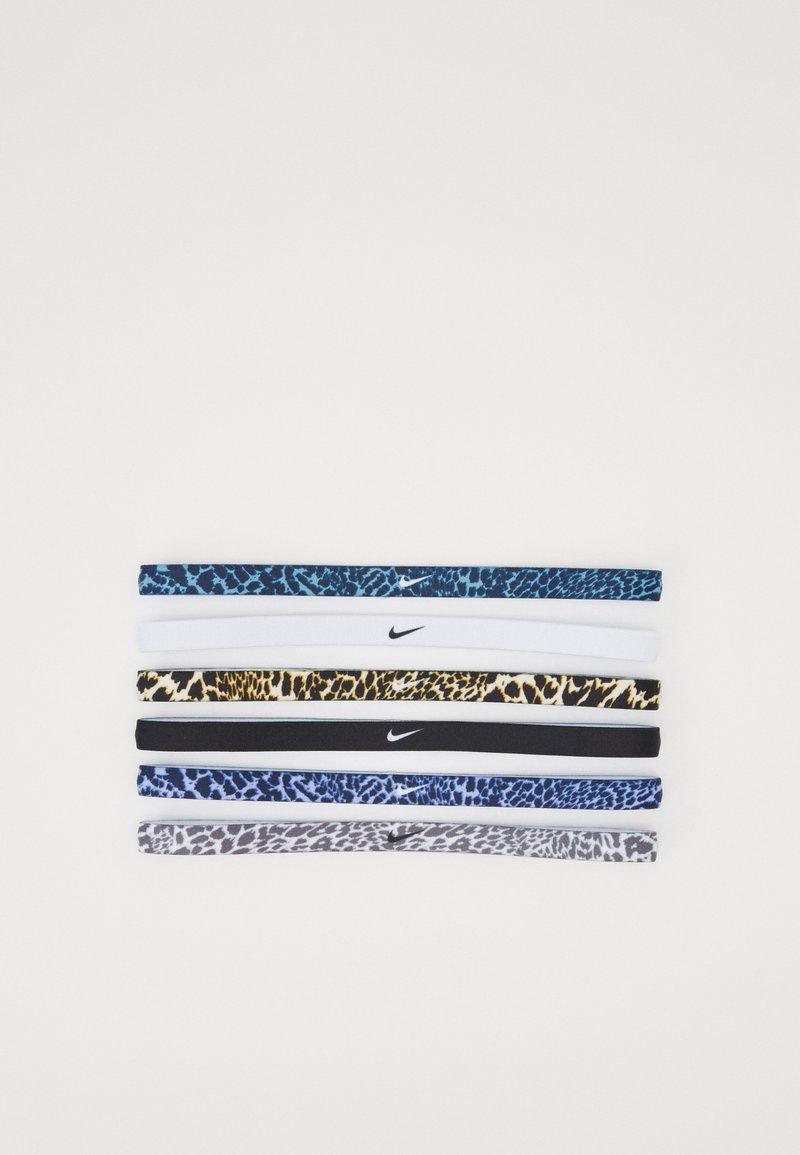 Nike Performance - PRINTED HEADBANDS 6 PACK - Accessoires - Overig - cerulean/light cream/black