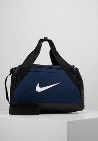 Nike Performance - BRASILIA DUFFEL - Torba sportowa - midnight navy/black/white - 0
