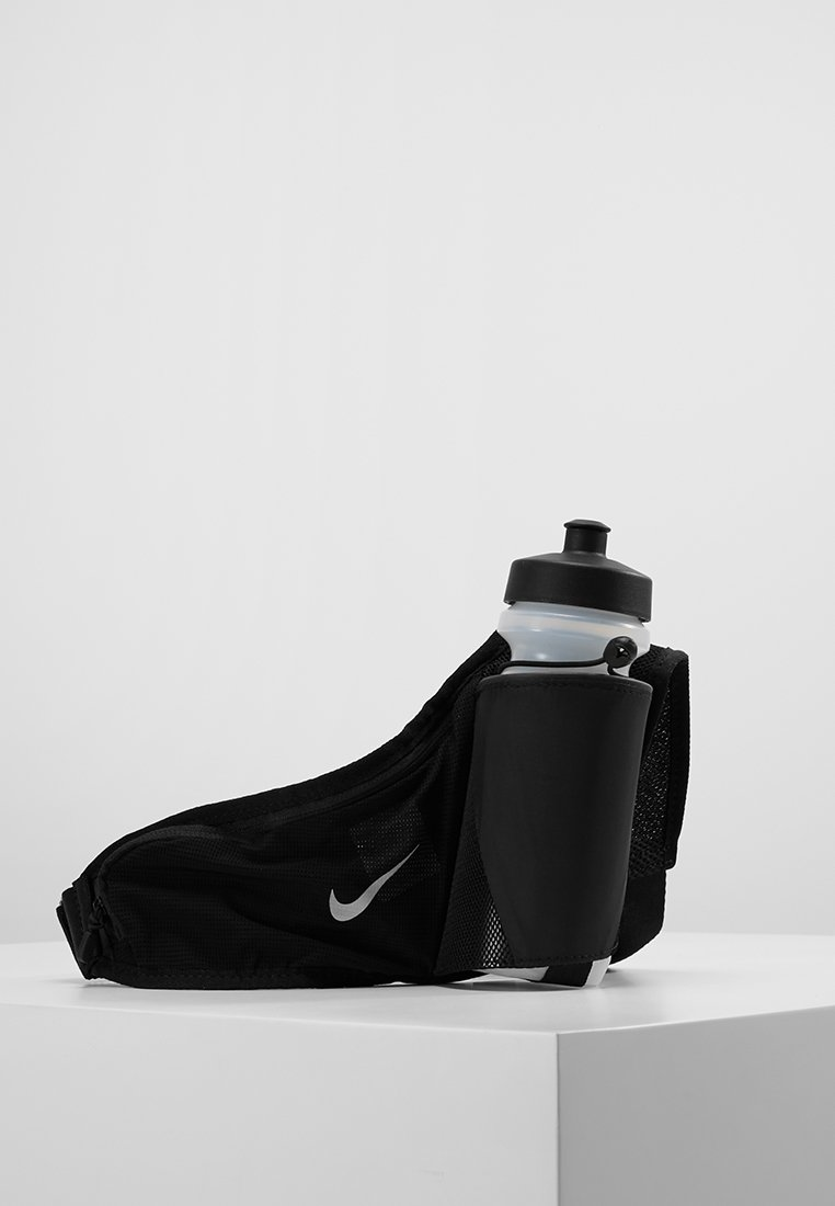 Nike Performance - LARGE BOTTLE BELT 22OZ  - Trinkflasche - black/black/silver