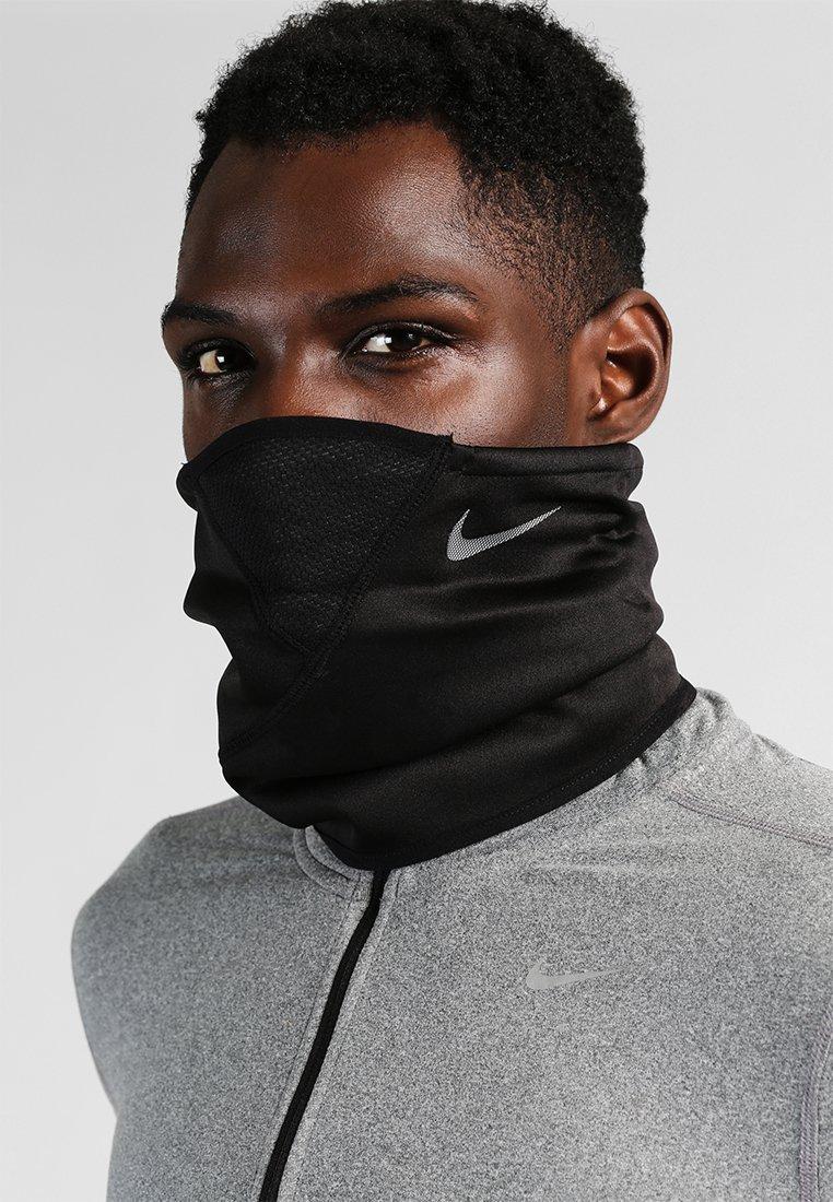 Nike Performance - THERMA SPHERE ADJUSTABLE NECK  - Tubehalstørklæder - black/tumbled grey/metallic silver