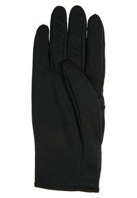 Nike Performance - RUN DRY HEADBAND AND GLOVE SET - Gloves - black/anthracite/silver - 7