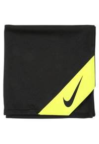 Nike Performance - COOLING SMALL TOWEL - Toalla - black/volt - 1
