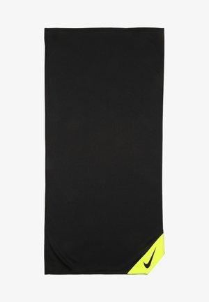 COOLING SMALL TOWEL - Towel - black/volt