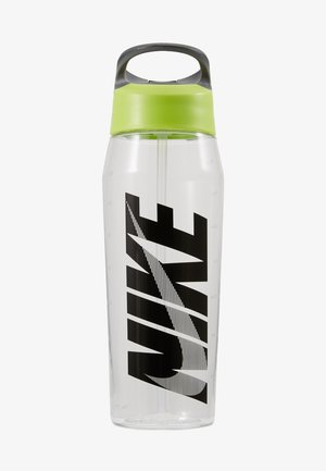 HYPERCHARGE STRAW BOTTLE - Vattenflaska - clear/volt/cool grey/black