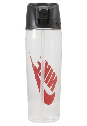 HYPERCHARGE STRAW BOTTLE 24 OZ / 709ML - Trinkflasche - clear/anthracite/university red