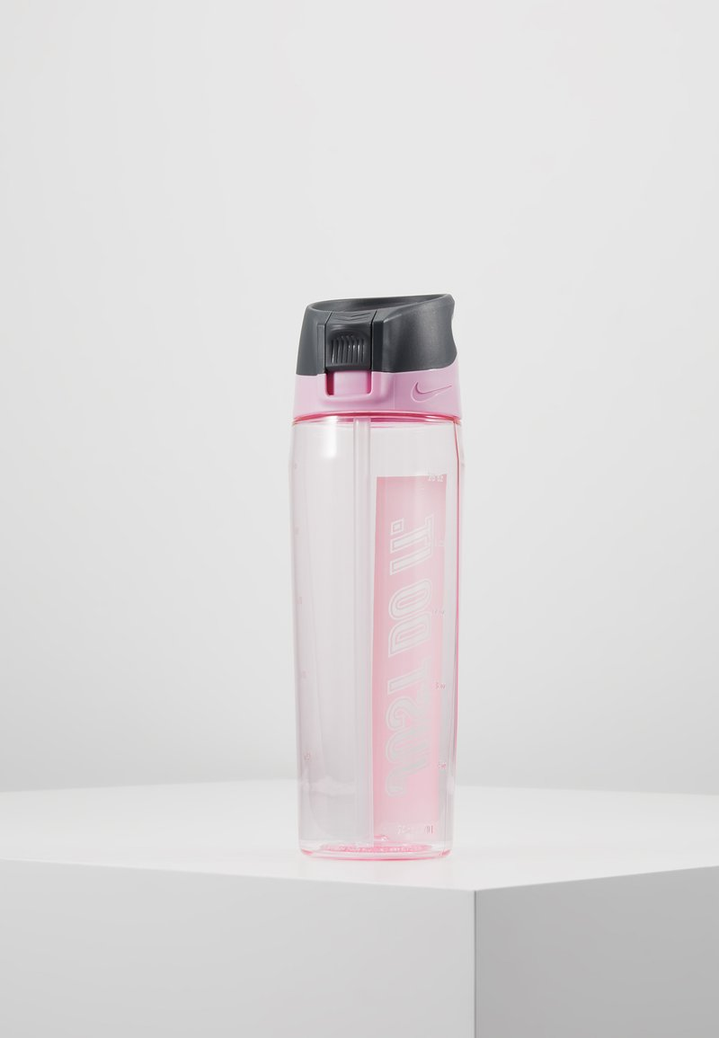 Nike Performance - 709ml HYPERCHARGE STRAW BOTTLE  - Drikkeflasker - pink rise/cool grey/white
