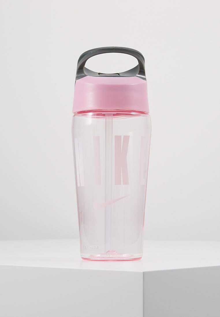 Nike Performance - 473ml HYPERCHARGE STRAW BOTTLE 16OZ - Juomapullo - pink rise/cool grey/white