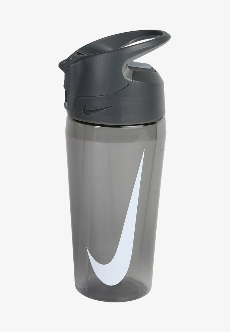 Nike Performance - 473ml HYPERCHARGE STRAW BOTTLE 16OZ - Trinkflasche - anthracite/cool grey/white