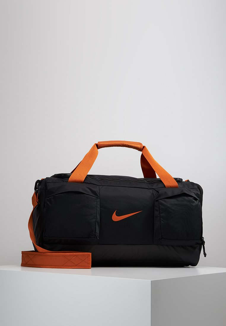 Nike Performance - POWER DUFF - Borsa per lo sport - black/black/cinder orange