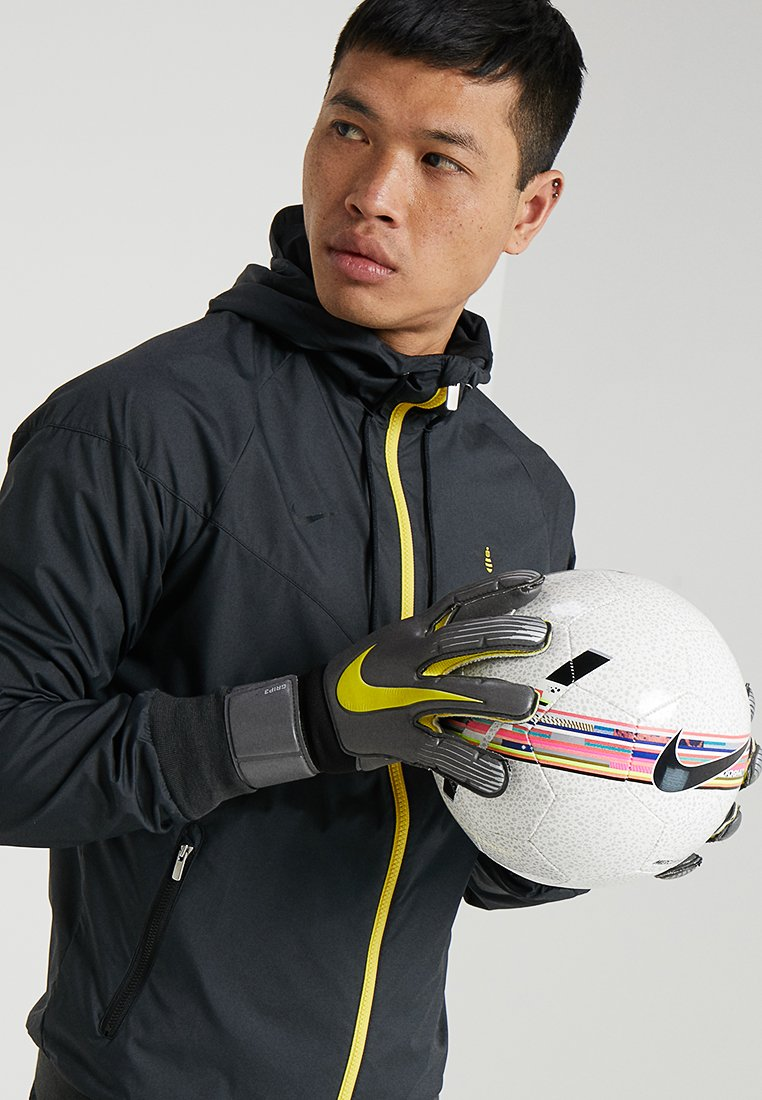 Nike Performance - Rękawice bramkarskie - anthracite/black/optic yellow
