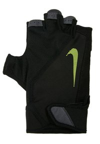 Nike Performance - MEN´S ELEMENTAL FITNESS GLOVE - Handsker - black/dark grey/black/volt - 2
