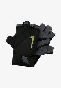 Nike Performance - MEN´S ELEMENTAL FITNESS GLOVE - Handsker - black/dark grey/black/volt - 1