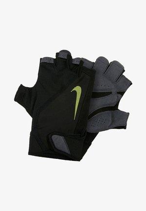 MEN´S ELEMENTAL FITNESS GLOVE - Gloves - black/dark grey/black/volt