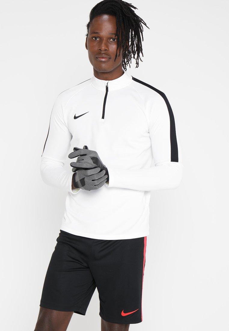 Nike Performance - ACADEMY HYPERWARM - Rękawiczki pięciopalcowe - charcoal heathr/black/black