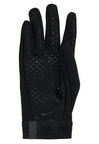 Nike Performance - ACADEMY HYPERWARM - Rukavice - black/white/white - 4