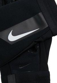 Nike Performance - ACADEMY HYPERWARM - Rukavice - black/white/white - 5