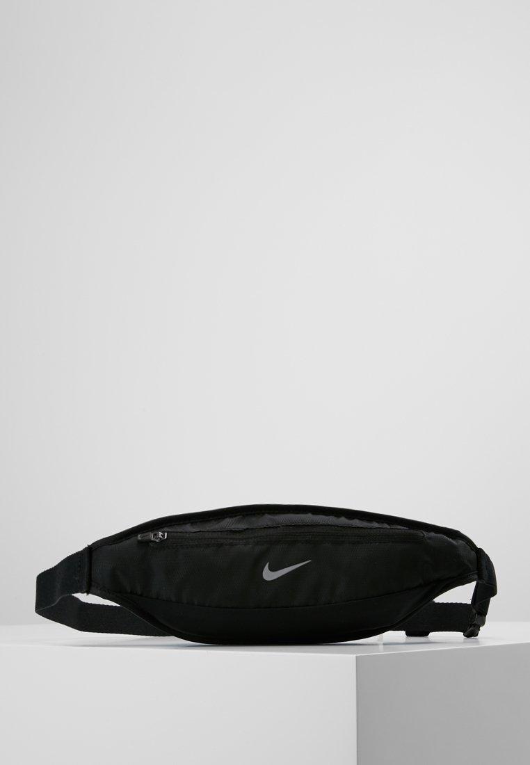 Nike Performance - CAPACITY WAISTPACK 2.0 SMALL - Ledvinka - black/black/silver