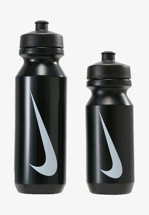 BIG MOUTH BOTTLE COMBI 2 PACK - Trinkflasche - black/black