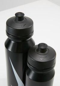 Nike Performance - BIG MOUTH BOTTLE COMBI 2 PACK - Trinkflasche - black/black - 5