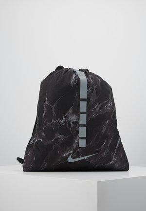 HOOPS ELITE - Urheilulaukku - black/black/silver