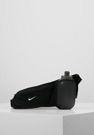 POCKET FLASK BELT - Vattenflaska - black/silver
