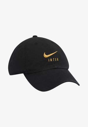 INTER MAILAND - Gorra - black/truly gold