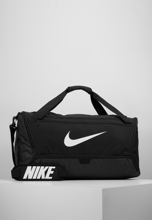 DUFF - Sports bag - black/white