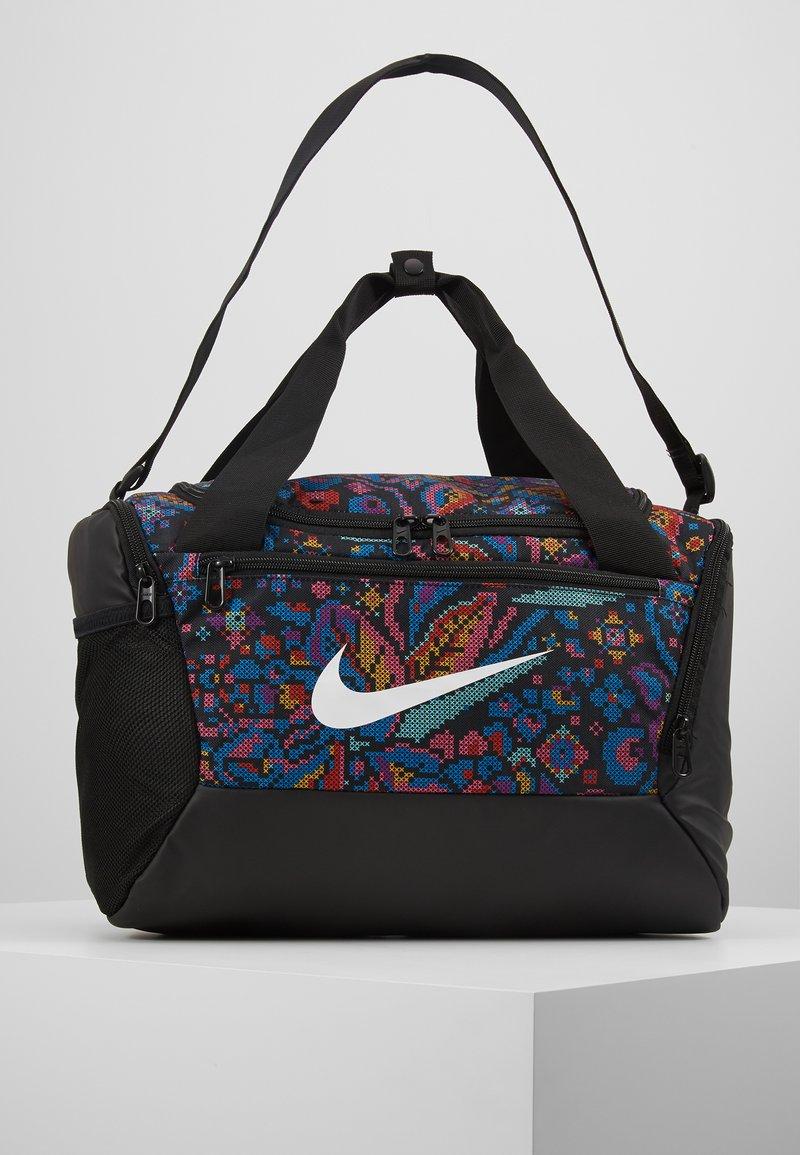Nike Performance - XS DUFF  - Sports bag - black/hyper pink/white