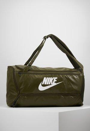 DUFF - Sports bag - cargo khaki/white