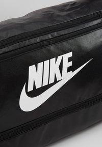 Nike Performance - DUFF - Sports bag - black/white - 8