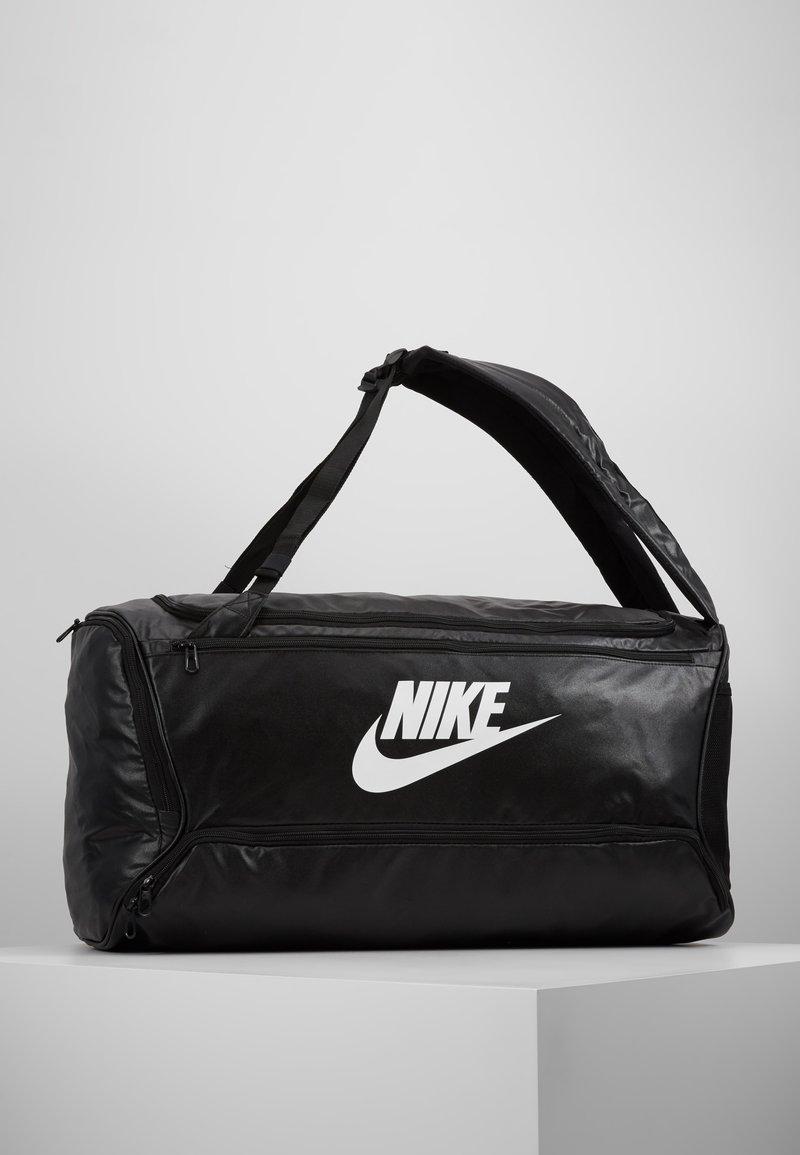 Nike Performance - DUFF - Sports bag - black/white