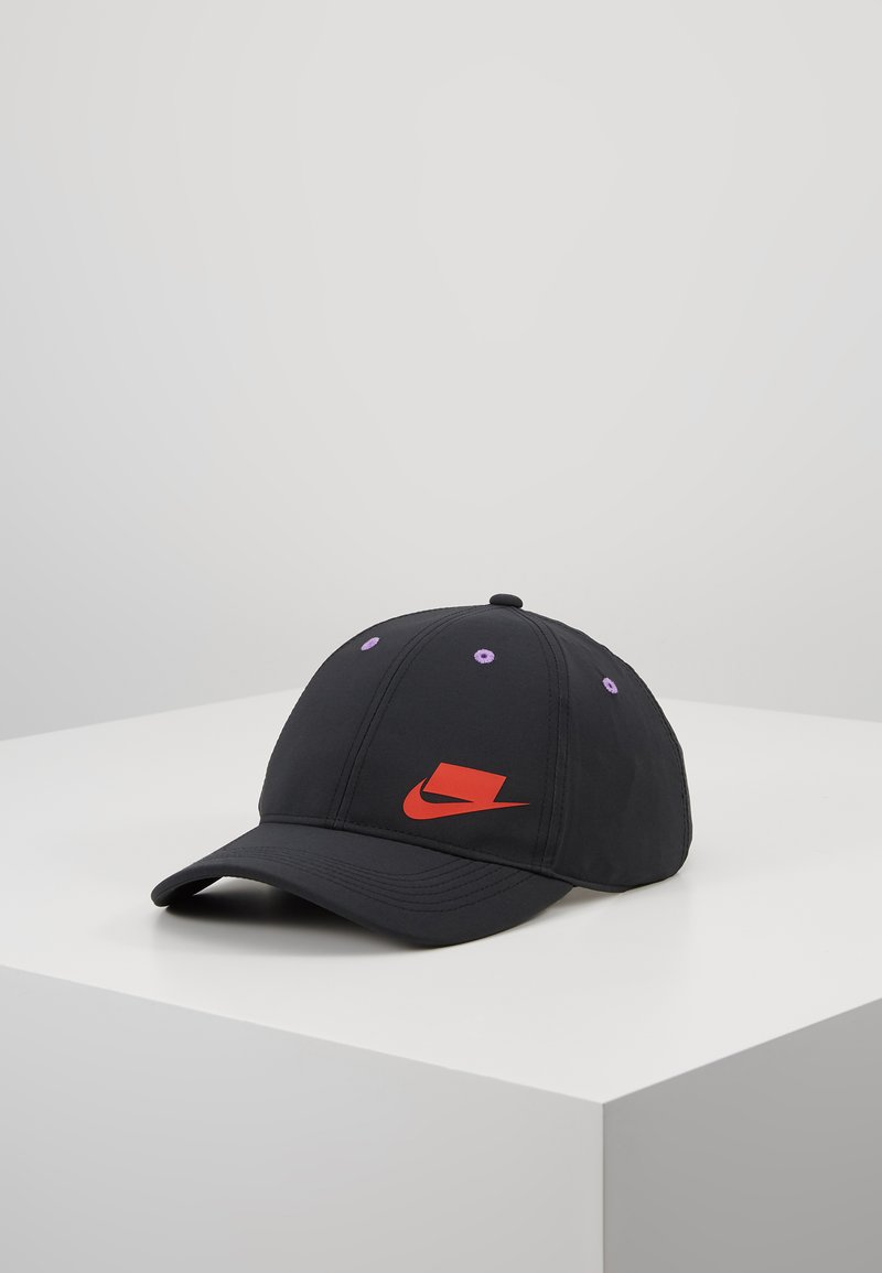 Nike Performance - AEROBILL - Cap - black/habanero red/bright violet