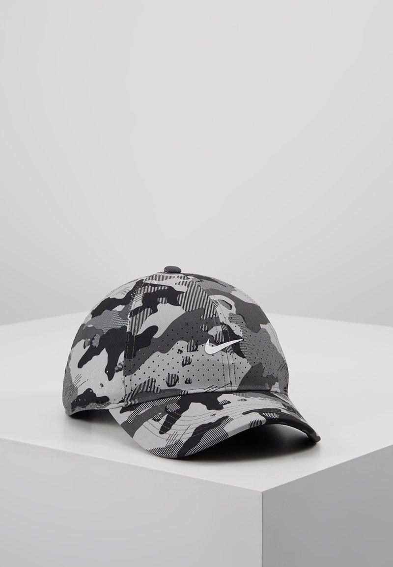 Nike Performance - AEROBILL CAMO - Cap - smoke grey/black/white
